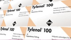 تايلينول 100، 200، 350 تحاميل شرجية للرضع و الأطفال