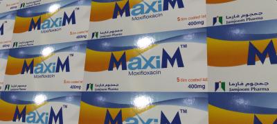 ماكسيم 400- موكسيفلوكساسين أقراص فموية مغلفة