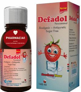 Defadol - 160mg Paracetamol suspension