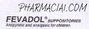 fevadol ped supp by pharmacia1