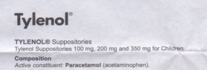 tylenol PIL by pharmacia1