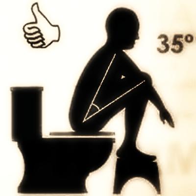 الطريقة الصحيحة للجلوس على الحمام