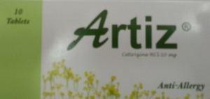 Artiz For Allergic Conditions فارماسيا