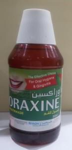 oraxine mouth wash  أوراكسين غسول للفم