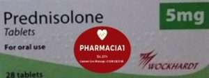 prednisolone 5mg tablet by wockhardt