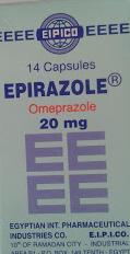 Epirazole capsules - 20 mg omeprazole