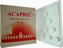 اكابريل أقراص Acapril tablet