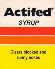 اكتيفيد شراب ACTIFED SYRUP