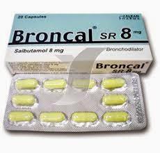 برونكال كبسول BRONCAL SR TABLET