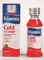 ترايامينيك للبرد و الكحة TRIAMINIC COLD & COUGH SYRUP
