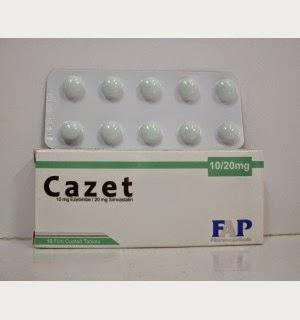 كازيت أقراص لتنظيم الدهون و الكوليستيرول بالدم
