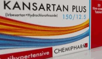 كانزارتان بلاس اقراص لخفض ضغط الدم المرتفع