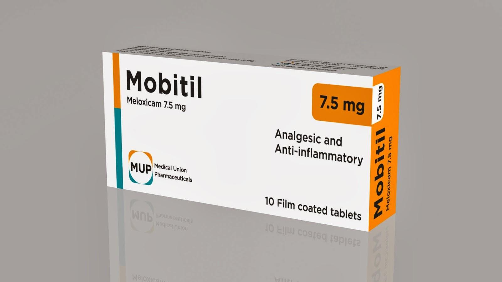 موبيتيل – ميلوكسيكام – لتخفيف الآلم و الإلتهاب