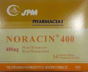 نوراسين 400 مجم أقراص لألتهاب المسالك البولية و التهابات البروستاتا