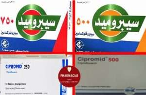 Cipromid 250- 500- 750 mg tablet