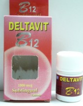 أقراص دلتافيت ب12 DELTAVIT  TABLET
