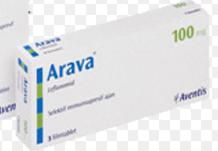 افارا Avara: ليفلونوميد لمرضى الروماتويد و نقل الأعضاء