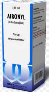 ايرونيل شراب aironyl syrup