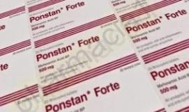 بونستان فورت اقراص PONSTAN FORTE