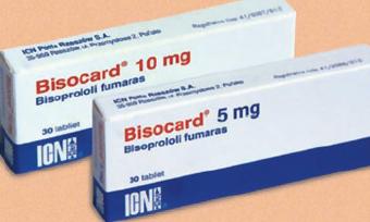 بيزوكارد أقراص فموية لخفض ضغط الدم والوقاية من النوبات القلبية