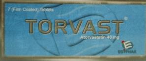 تورفاست أقراص TORVAST TABLET