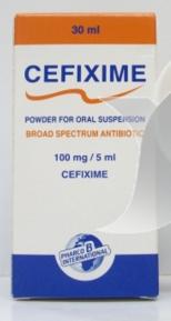 سيفيكسيم 100 ميلجرام شراب معلق – مضاد حيوى| CEFIXIME
