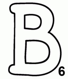 فيتامين B6 (البيريدوكسين)