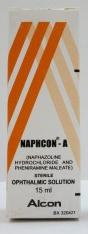 قطرة نافكون – أ NAPHCON – A للعين