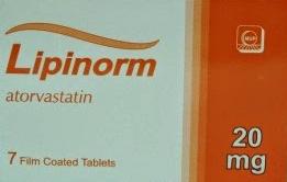 ليـبـيـنـورم أقراص LIPINORM TABLET
