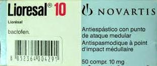 ليوريسال أقراص Lioresal tablet