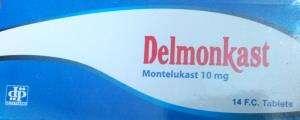 delmonkast 10 mg oral tablets - deltapharm