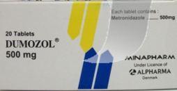 دوموزول… ميترونيدازول مضاد للطفيليات و البكتيريا