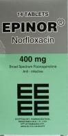 إبينور 400 ملليجرام أقراص – نُورفلوُكساسين