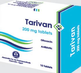 تاريفان 200 – مضاد حيوى واسع المدى   Tarivan