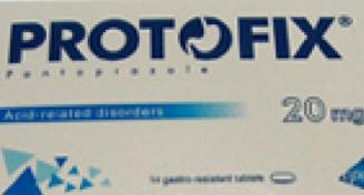 بروتوفكس 20- 40 مجم حبوب الحموضة و قرحة  إلتهاب المعدة