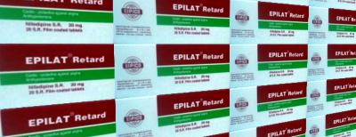 إبيلات ريــتــارد أقراص EPILAT RETARD