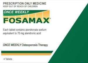 فوساماكس مرة واحدة أسبوعيا (حمض اليندرونيك alendronic)