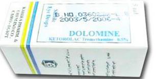 قطرات دولومين Dolomine للعين