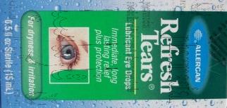 ريفريش تيرز قطرات عينية – دموع إصطناعية لترطيب العين