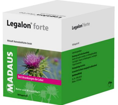 ليجالون- يحسن وظائف الكبد، يحمي خلايا الكبد