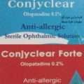 كونجيكلير ۰,۱% و كونجيكلير فورت ۰,٢% محلول معقم للعين