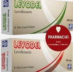 ليفوديل 500- 750 مضاد حيوى واسع المدى   LEVODEL