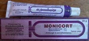 مونيكورت كريم مضاد للفطريات و الإلتهابات