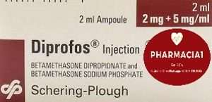 DIPROFOS - betamethasone ampoule