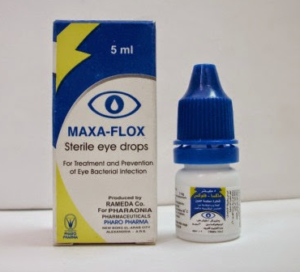 ماكسا فلوكس قطرة عين معقمة