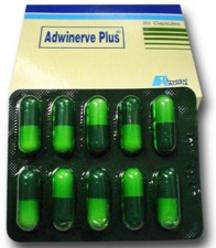 أدوينيرف بلس… كبسولات فيتامينات ب