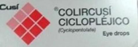 سيكلوبليجيكو محلول للعين- قطرات سيكلوبنتولات العينية
