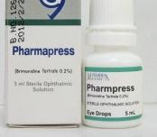 فارمابريس PHARMAPRESS،لعلاج ارتفاع الضغط داخل العين