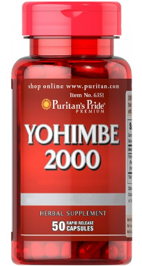 يوهمبى 2000 YOHIMBE كبسول| بيوريتان PURITAN