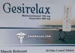 Gesirelax tablets